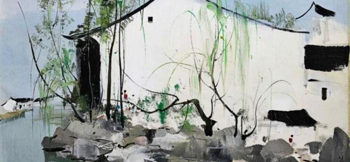 吴冠中两幅油彩香港上拍