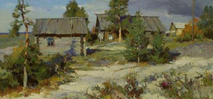 俄罗斯画家金·过瓦里油画展冰城开幕