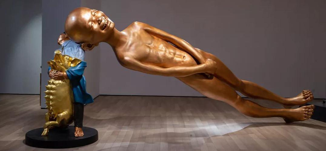 雕塑家陈文令