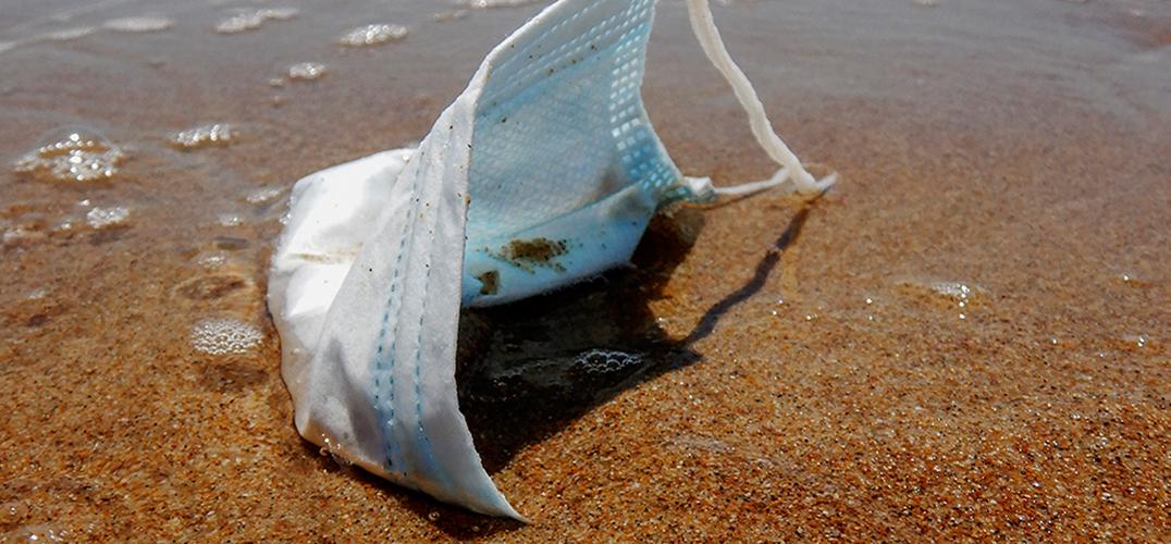 一次性口罩和手套带来的塑料梦魇