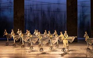 《永不消逝的电波》在上海国际舞蹈中心复演
