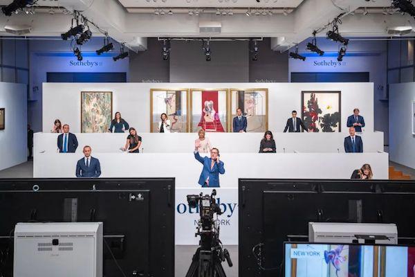 弗朗西斯·培根画作8500万美元成交,苏富比首次直播拍卖