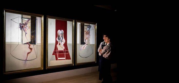 在8400万美元的培根画作中窥探苏富比线上拍卖