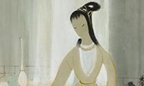 中国书画及瓷器工艺品竞相争艺