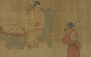 周文矩梁楷之作在台北故宫博物院展出
