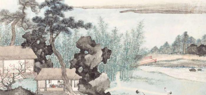 吴冠中《长白山天池》领跑 中国书画春拍圆满落槌