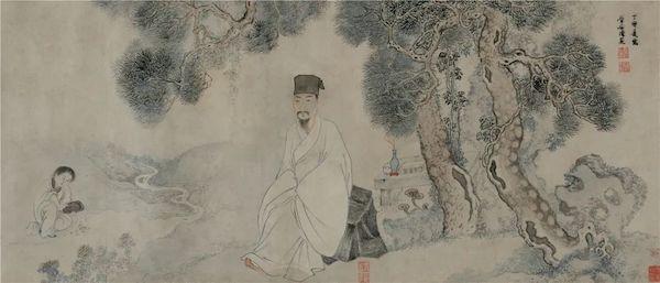 """读明清画家笔下的苏轼王阳明肖像,国博新展""""妙合神形"""""""