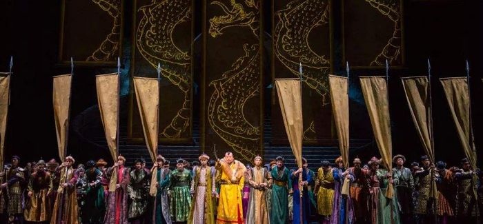 """中国歌剧舞台上的""""马可·波罗"""""""
