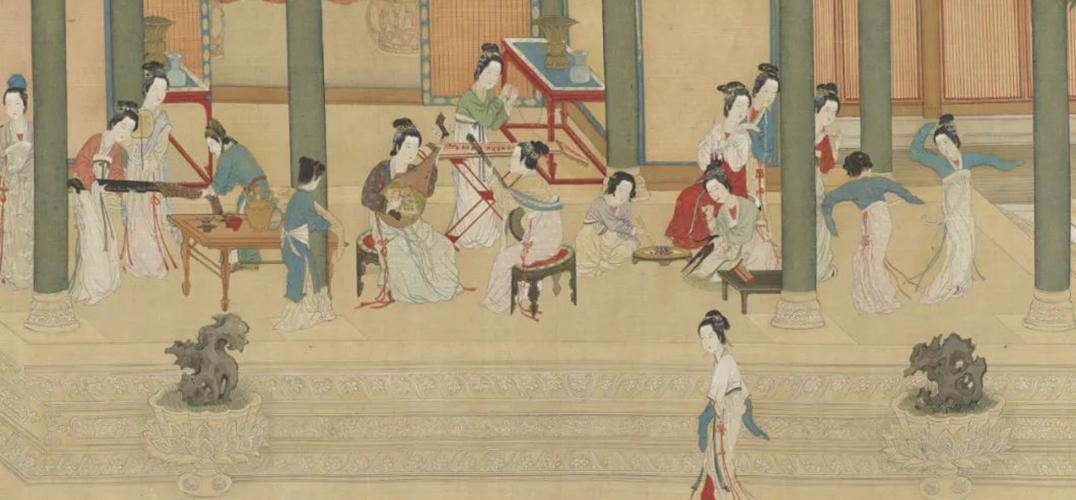 """在台北故宫中欣赏""""丽人行"""""""