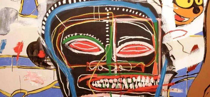 他的头部涂鸦画为什么受到艺术界的追捧?
