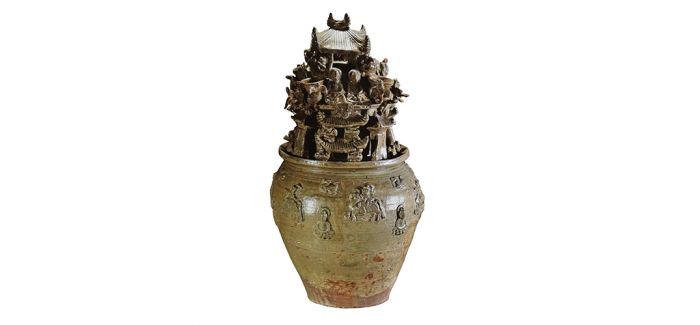 青瓷魂瓶与古代丧葬文化
