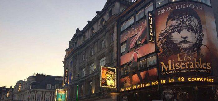 不能到位的救援金 英国剧院行业举步维艰