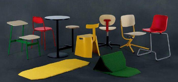 未来 学校都会摆哪些椅子?