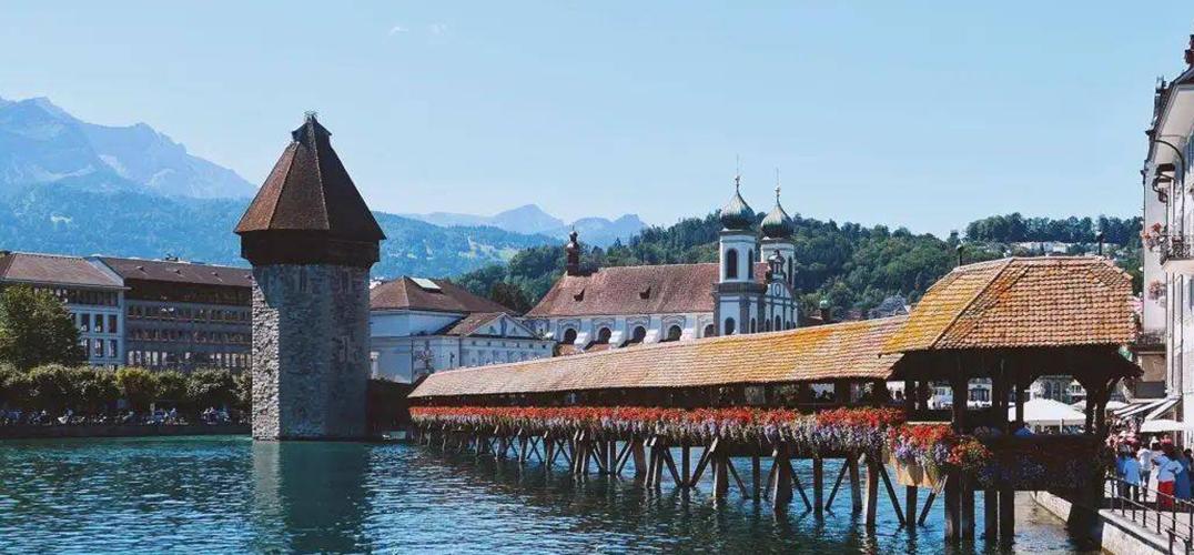初秋 想醉倒在瑞士的湖光山色之中