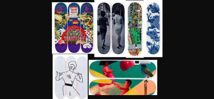 慈善滑板网上拍卖登陆香港
