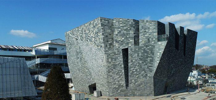隈研吾新作!角川武藏野博物馆正式开放