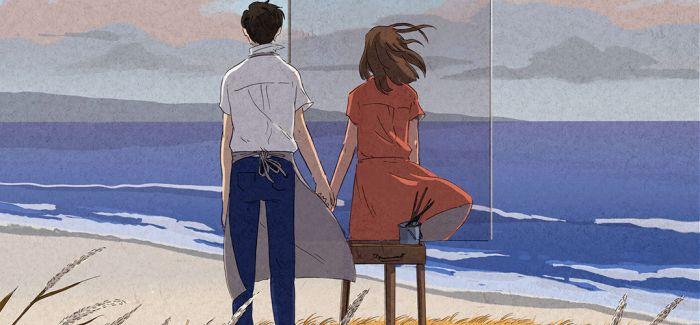 跟随插画师寻找理想爱情的模样
