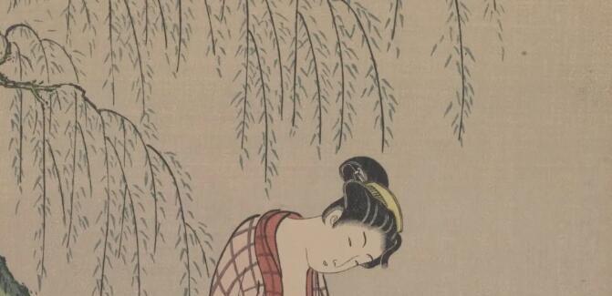 图集|中国美术馆藏日本浮世绘和清代木版年画精品展