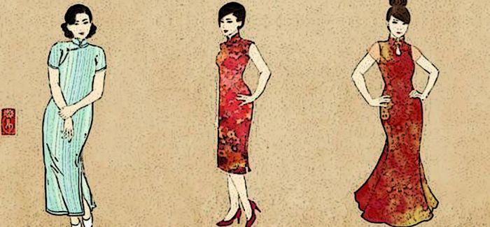 在绘画之中静观中国近代服饰的演变