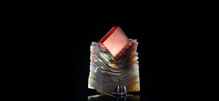 在上海琉璃艺术博物馆静观窑铸玻璃艺术