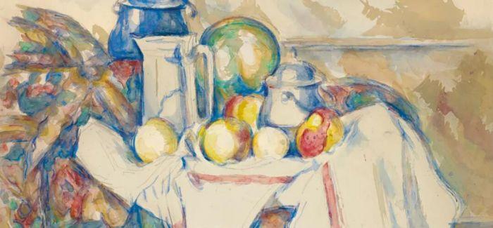 保罗·塞尚水彩静物画10月纽约上拍
