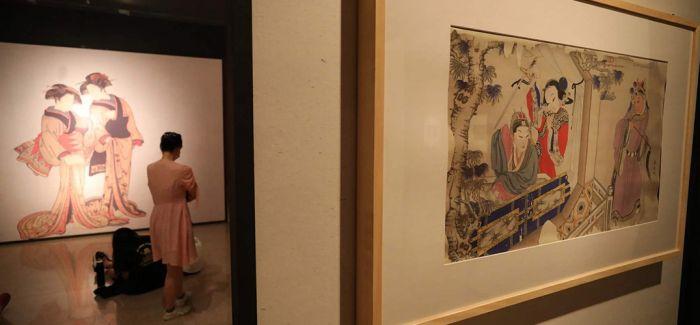 浅析浮世绘与中国明清版画的不解之缘