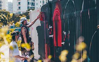 上海M50涂鸦墙的拆除与新生