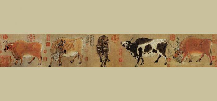 韩滉的《五牛图》到底有多牛?