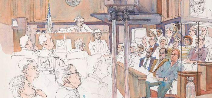 浅聊法庭上的绘画