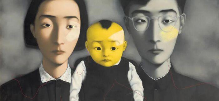 2020秋拍呈献张晓刚《血缘 — 大家庭2号》
