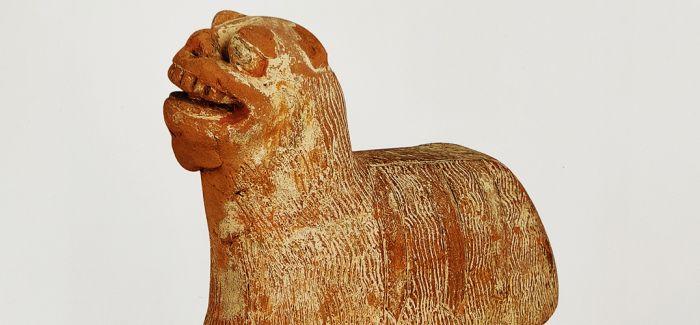 """古人眼中的""""舞狮俑"""""""