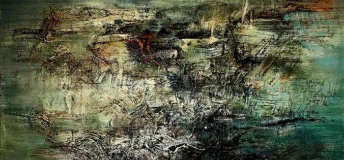 2020现代艺术晚拍呈献赵无极与谢景兰抽象画作