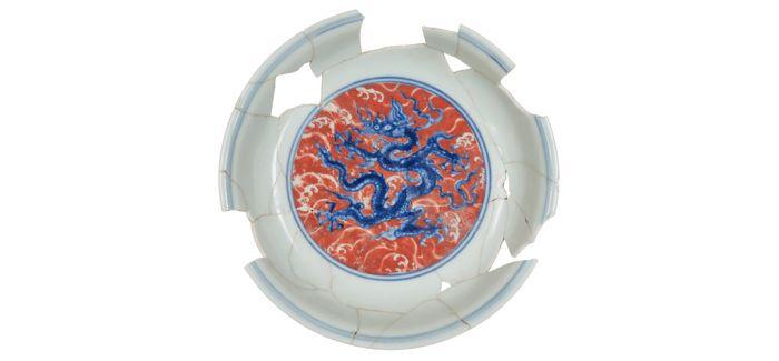 当景德镇明代御窑遇见故宫博物院藏瓷器