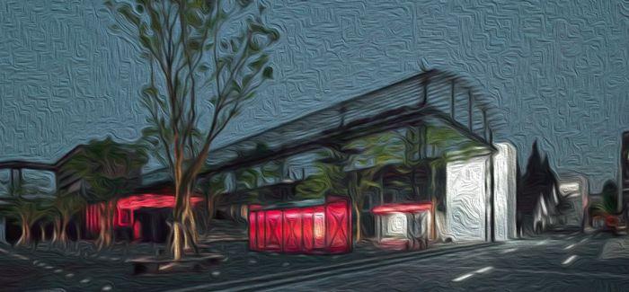 十一假期 夜游上海玻璃博物馆