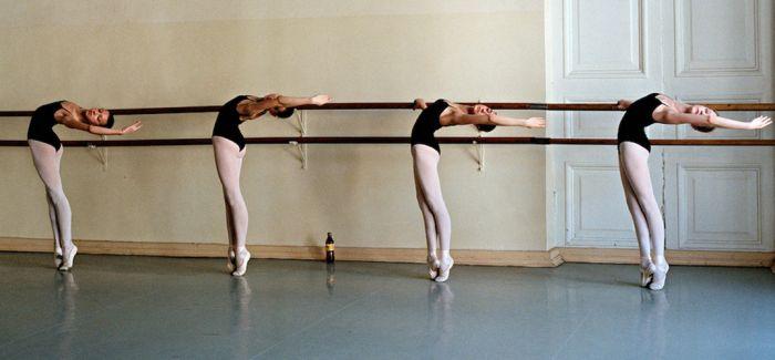 镜头之下的芭蕾舞者