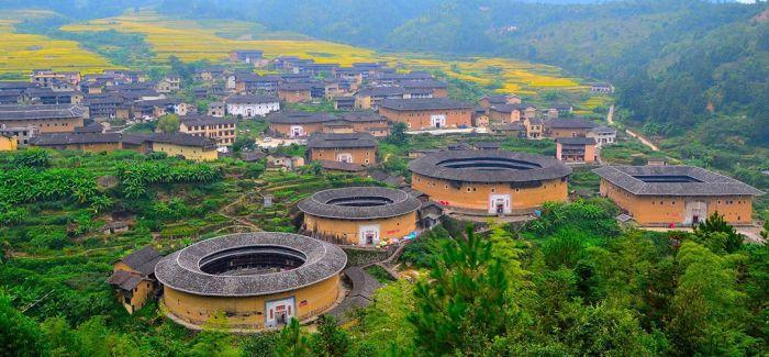 """福建土楼:中国古建筑中的""""奇葩"""""""