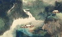 两帧张大千泼彩作品10月登陆香港