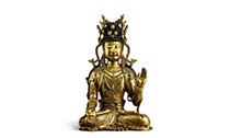 宋鎏金铜观音菩萨坐像领衔2020苏富比秋拍