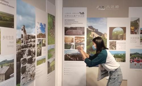 八达岭长城&哈德良长城 世界文化遗产对话展开幕