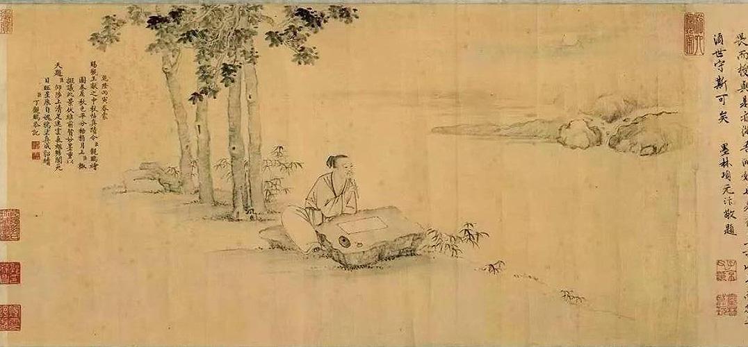 在故宫六百年鉴藏中静赏皎月之美