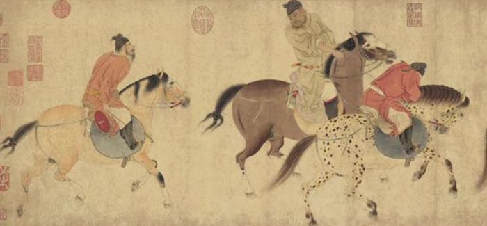 《五王醉归图》中哪一位才是唐玄宗?