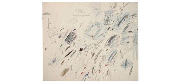 塞‧托姆布雷《无题(博塞纳)》纽约上拍