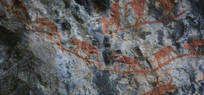 云南沧源崖画绝对年代为距今3800至2700年之间