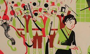 插画展丨世界文化与中国文化的碰撞