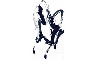 壮心老骥马蹄昂——霜凝与他的大写意抽象马