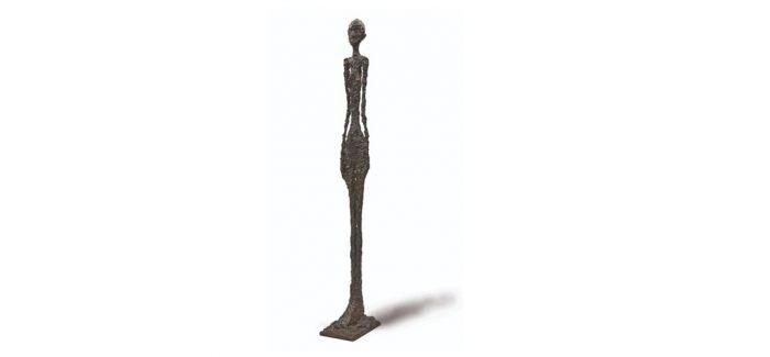 约密竞投:贾科梅蒂九尺高雕塑作品