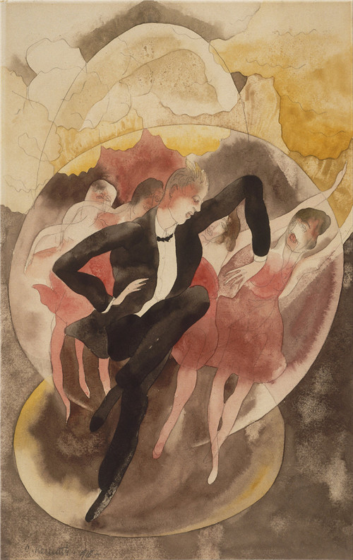 1200px-Charles_Demuth,_American_-_In_Vaudeville_(Dancer_with_Chorus)_-_Google_Art_Project