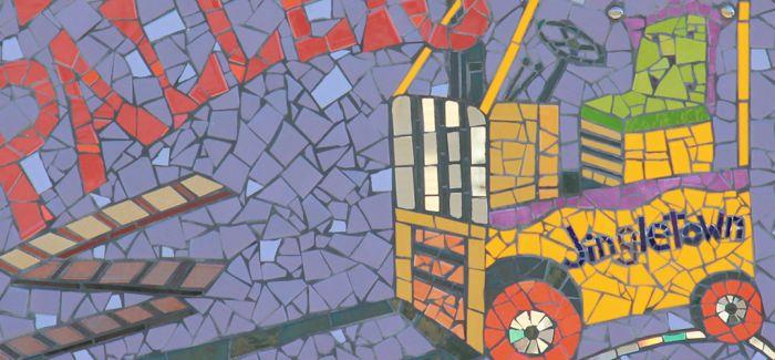 马赛克:镶嵌的艺术 另类的语言表达