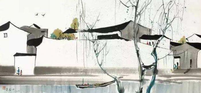 浅析中国水彩画的本土性
