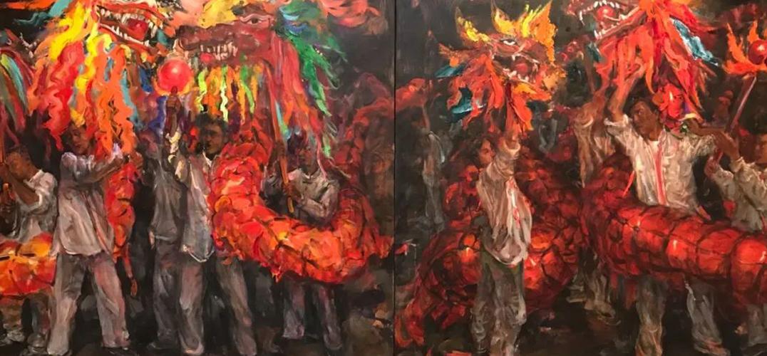 陆阳个人画展于北京保利艺术博物馆开幕